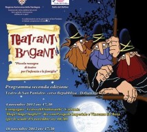 ACTORS BANDITS – SAN PANTALEO THEATRE – DOLIANOVA – NOVEMBER 4 TO DECEMBER 2