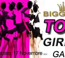 TOP GIRLS GAME – BIGGEST – SAMASSI – SABATO 17 NOVEMBRE
