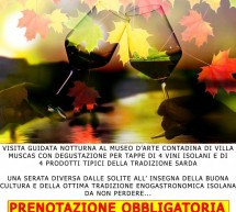 WINE IN VILLA – CAGLIARI – FRIDAY NOVEMBER 30