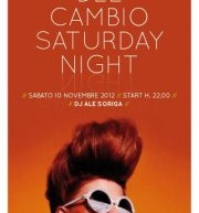 SATURDAY NIGHT – CAFFE' DEL CAMBIO – CAGLIARI – SABATO 10 NOVEMBRE