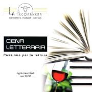 LITERARY DINNER – LA PECORA NERA – SESTU – WEDNESDAY NOVEMBER 28
