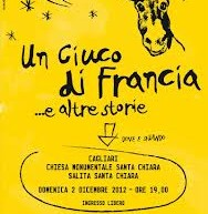 A DONKEY IN FRANCE AND OTHER STORIES – TUTTESTORIE LIBRARY – CAGLIARI – SATURDAY DECEMBER 1