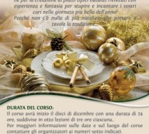 COOKING COURSE FOR CHRISTMAS LUNCH – CAGLIARI – DECEMBER 10 TO 20