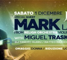 SPECIAL GUEST MARK LANZETTA – JACKIE O – CAGLIARI – SATURDAY DECEMBER 1