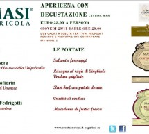 APERIDINNER AND TASTIN MASI CELLARS – CRONTA WINE BAR- CAGLIARI – THURSDAY NOVEMBER 29