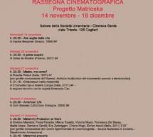 PROGETTO MATRIOSKA – CINETECA SARDA – CAGLIARI- 14 NOVEMBRE-18 DICEMBRE