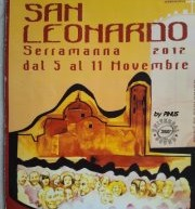 SAN LEONARDO FEAST – SERRAMANNA – 5 TO 11 NOVEMBER