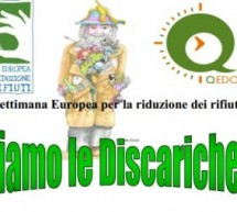 EUROPEAN WEEK FOR WASTE REDUCTION – LAZZARETTO and LOY THEATRE – CAGLIARI – 17 TO 25 NOVEMBER