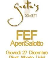 <!--:it-->APERISALOTTO FEF – GRETA'S – CAGLIARI – GIOVEDI 27 DICEMBRE<!--:--><!--:en-->APERILIVING FEF – GRETA'S – CAGLIARI – THURSDAY DECEMBER 27<!--:-->