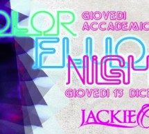 <!--:it-->GIOVEDI ACCADEMICO – JACKIE O- CAGLIARI – GIOVEDI 13 DICEMBRE<!--:--><!--:en-->ACADEMIC THURSDAY – JACKIE O – CAGLIARI – THURSDAY DECEMBER 13<!--:-->