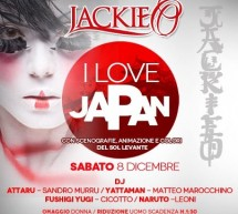 I LOVE JAPAN – JACKIE O – CAGLIARI – SATURDAY DECEMBER 8