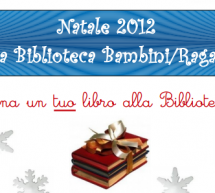 DONATE A BOOK TO YOUR LIBRARY OF CHILDREN – CAGLIARI – DECEMBER 5 TO JANUARY 5