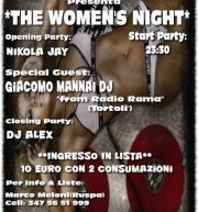 THE WOMENS NIGHT – PAPPAFICO DISCO CLUB – CAGLIARI – SABATO 8 DICEMBRE