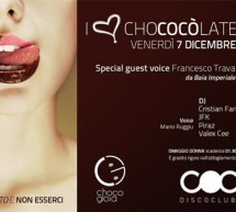 <!--:it-->I LOVE CHOCOCOLATE – COCO DISCOCLUBBING – CAGLIARI -VENERDI 7 DICEMBRE<!--:--><!--:en-->I LOVE CHOCOCOLATE – COCO DISCO CLUBBING – CAGLIARI – FRIDAY DECEMBER 7<!--:-->
