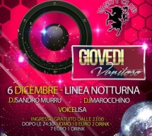 VANITY THURSDAY – LINEA NOTTURNA – CAGLIARI – THURSDAY DECEMBER 6