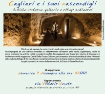CAGLIARI AND HIS HIDDEN – SUNDAY DECEMBER 9