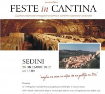<!--:it-->FESTE IN CANTINA – SEDINI – SABATO 29 DICEMBRE ORE 16 <!--:--><!--:en-->PARTY IN THE CELLAR – SEDINI – SATURDAY DECEMBER 29 AT 4:00 PM<!--:-->