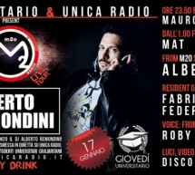 <!--:it-->UNIVERSITY TOUR M2O E GIOVEDI UNIVERSITARIO – SPECIAL GUEST ALBERTO REMONDINI (M2O RADIO) – K-LAB – CAGLIARI – GIOVEDI 17 GENNAIO <!--:--><!--:en-->UNIVERSITY TOUR M20 and UNIVERSITY THURSDAY – SPECIAL GUEST ALBERTO REMONDINI (M2O RADIO) – K-LAB- CAGLIARI – THURSDAY JANUARY 17<!--:-->