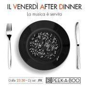 <!--:it-->VENERDI AFTER DINNER –  PEEK-A-BOO – CAGLIARI – VENERDI 11 GENNAIO<!--:--><!--:en-->FRIDAY AFTER DINNER – PEEK-A-BOO – CAGLIARI – FRIDAY JANUARY 11<!--:-->