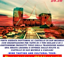 <!--:it-->ROSSO DI SERA – CASTELLO SAN MICHELE – CAGLIARI – VENERDI 25 GENNAIO<!--:--><!--:en-->RED IN THE EVENING – SAN MICHELE CASTLE-  CAGLIARI – FRIDAY JANUARY 25<!--:-->