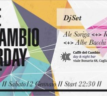 <!--:it-->SATURDAY NIGHT – CAFFE' DEL CAMBIO – CAGLIARI – SABATO 12 GENNAIO<!--:--><!--:en-->SATURDAY NIGHT – CAFFE' DEL CAMBIO – CAGLIARI – SATURDAY JANUARY 12<!--:-->