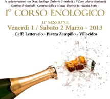 <!--:it-->1° CORSO ENOLOGICO – VILLACIDRO – 1-2 MARZO<!--:--><!--:en-->1st WINE COURSE – VILLACIDRO – MARCH  1 TO 2 <!--:-->