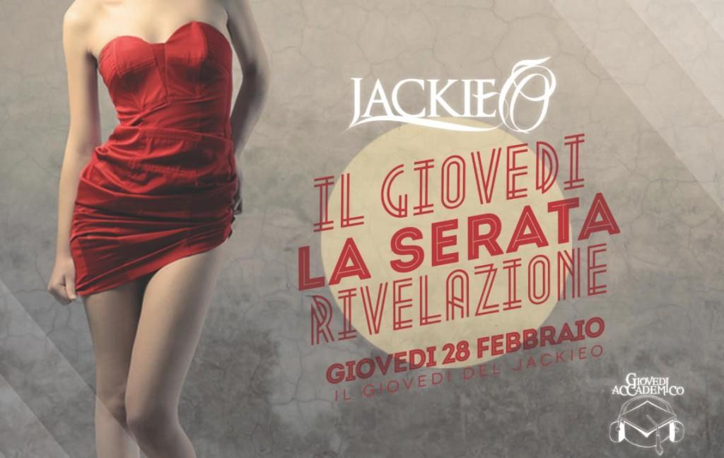 GIOVEDI JACKIE O