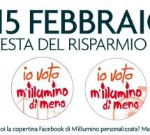 <!--:it-->M'ILLUMINO DI MENO – VENERDI 15 FEBBRAIO 2013<!--:--><!--:en-->LIGHTING OF LESS – FRIDAY  FEBRUARY 15<!--:-->