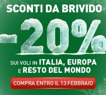 <!--:it-->SCONTI DA BRIVIDO ALITALIA -20%<!--:--><!--:en-->DISCOUNTS TO SHIVER ALITALIA -20%<!--:-->