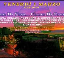 <!--:it-->SORSI DI VINO…CALICI DI CULTURA – CAGLIARI – VENERDI 1 MARZO<!--:--><!--:en-->SIPS OF WINE … GLASS OF CULTURE – CAGLIARI – FRIDAY MARCH 1<!--:-->