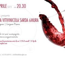 <!--:it-->DEGUSTAZIONE CANTINE 6 MURA – HOTEL ITALIA – CAGLIARI – SABATO 13 APRILE<!--:--><!--:en-->TASTING 6 MURE CELLARS – HOTEL ITALIA – CAGLIARI -SATURDAY AVRIL 13<!--:-->