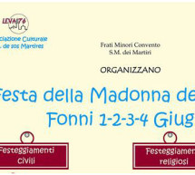 <!--:it-->FESTA DELLA MADONNA DEI MARTIRI – FONNI  – 1-4 GIUGNO<!--:--><!--:en-->MADONNA DEI MARTIRI FEAST – FONNI – JUNE 1 TO 4<!--:-->