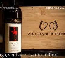 <!--:it-->VENT'ANNI DI TURRIGA – CANTINE ARGIOLAS – SERDIANA – DOMENICA 26 MAGGIO<!--:--><!--:en-->20 YEARS OF TURRIGA – ARGIOLAS CELLARS- SERDIANA – SUNDAY MAY 26<!--:-->