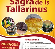 <!--:it-->8° SAGRA DE IS TALLARINUS – NURAGUS – SABATO 29 GIUGNO 2013<!--:--><!--:en-->8th TALLARINUS FESTIVAL – NURAGUS – SATURDAY JUNE 29th<!--:-->