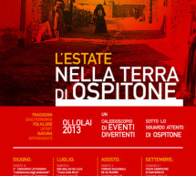 <!--:it-->OSPITONE 2013 – OLLOLAI – 8 GIUGNO- 20 OTTOBRE<!--:--><!--:en-->OSPITONE 2013 – OLLOLAI – JUNE 8th TO OCTOBER 20th<!--:-->