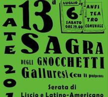 <!--:it-->13° EDIZIONE SAGRA DEGLI GNOCCHETTI GALLURESI – AGLIENTU – SABATO 6 LUGLIO 2013<!--:--><!--:en-->13tH EDITION GNOCCHETTI GALLURESI FESTIVAL – AGLIENTU – SATURDAY JULY 6th<!--:-->