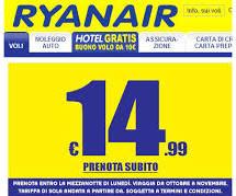 <!--:it-->VOLI RYANAIR DA CAGLIARI A PARTIRE DA 14,99 € – FINO A LUNEDI 23 SETTEMBRE 2013<!--:--><!--:en-->FLY RYNAIR FROM CAGLIARI AT 14,99 € – UNTIL MONDAY SEPTEMBER 23<!--:-->