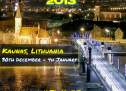 CAPODANNO 2014 A KAUNAS (LITUANIA) CON INTERNATIONAL WINTER WEEK