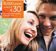 <!--:it-->SUPEROFFERTE EASYJET – 16000 POSTI A MENO DI 30 € – PRENOTA SUBITO<!--:--><!--:en-->OFFERS EASYJET – 16000 TICKETS LOSS 30 € – BOOK HERE <!--:-->