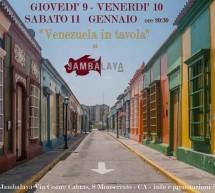 <!--:it-->VENEZUELA IN TAVOLA – JAMBALAYA JAZZ CLUB – MONSERRATO – 9-10-11 GENNAIO 2014<!--:--><!--:en-->VENEZUELA IN TABLE – JAMBALAYA JAZZ CLUB – MONSERRATO – JANUARY 9-10-11<!--:-->