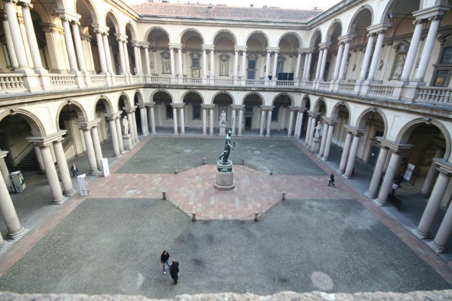 La pinacoteca di brera galleria comunale cagliari for Accademia di design milano