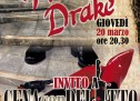DINNER WITH THE MURDER – FRANCIS DRAKE- CAGLIARI – THURSDAY MARCH 20,2014