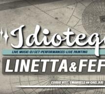 <!--:it-->IDIOTEQUE 2014 – DJ LINETTA & FEFO – OLD SQUARE – CAGLIARI – VENERDI 2 MAGGIO 2014<!--:--><!--:en-->IDIOTEQUE 2014 – DJ LINETTA & FEFO – OLD SQUARE – CAGLIARI – FRIDAY MAY 2,2014<!--:-->
