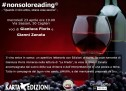 NOT ONLY READING – INU WINE BAR – CAGLIARI – WEDNESDAY APRIL 23,2014