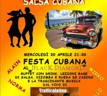 <!--:it-->FESTA CUBANA – BLACK DIAMOND – CAGLIARI – MERCOLEDI 30 APRILE 2014<!--:--><!--:en-->CUBAN PARTY – BLACK DIAMOND – CAGLIARI – WEDNESDAY APRIL 30,2014<!--:-->