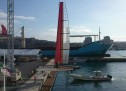 START THE ADVENTURE OF LUNA ROSSA IN CAGLIARI