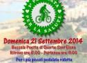3° PEDALATA PER LA SALUTE – QUARTU S.ELENA – DOMENICA 21 SETTEMBRE 2014