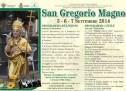 FESTEGGIAMENTI IN ONORE DI S.GREGORIO MAGNO – PORTO TORRES – 5-6-7 SETTEMBRE 2014