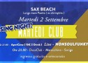 MARTEDI CLUB CLOSING PARTY – SAX BEACH – QUARTU S.ELENA – MARTEDI 2 SETTEMBRE 2014