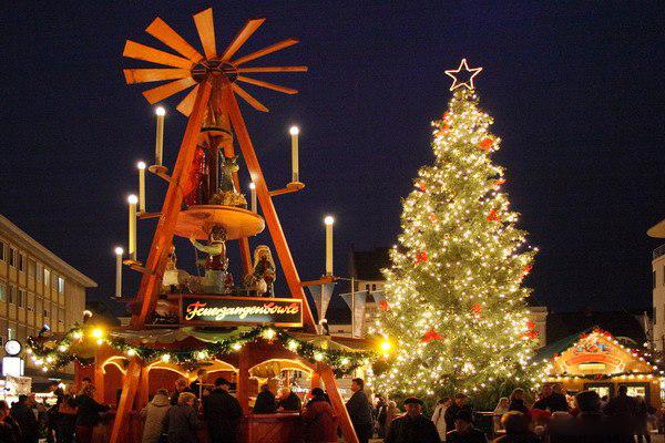 Weihnacht in Berlin-Spandau